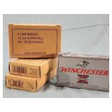 24 Boxes 20 Rds. Winchester Olin 12ga. OO Buckshot