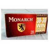 Monarch 30-30 150gr. FSP Ammo Box of 20
