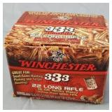 Winchester 22lr CPHP 333 Round Box of Ammo