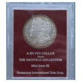 1897-S Morgan MS-65 Redfield Hoard Silver Dollar