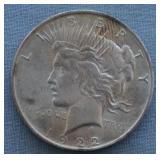 1922 BU Peace Silver Dollar
