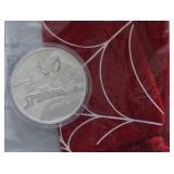 2017 1oz Silver Tuvalu Marvel Spider-Man BU Coin