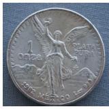 1982 1oz Silver Mexican Libertad BU Coin