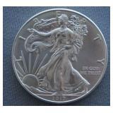 2017 1oz Silver American Eagle BU 1 Dollar Coin