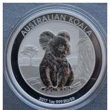 2017 1oz Silver Australian Koala BU 1 Dollar Coin