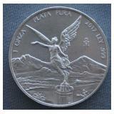 2017 1oz Silver Mexican Libertad BU 1 Peso Coin