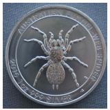 2015 1oz Silver Australian Spider BU 1 Dollar Coin