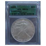 2005-P Silver American Eagle ICG MS-70 Dollar