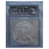 2007 Silver American Eagle MS-70 First Day Issue