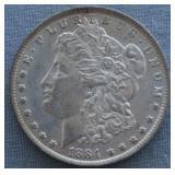 1884-O Morgan Unc. Silver Dollar