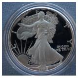 1989-S Proof Silver American Eagle