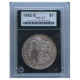 1882-O Morgan NGP MS-67 Silver Dollar