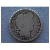 1903-O Barber Silver Half Dollar