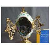 Franklin Mint The Emerald Isle Collector Egg