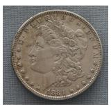 1884 Morgan Silver $1 Dollar