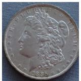 1885-O Morgan Silver $1 Dollar