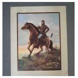Civil War Print General Stonewall Jackson