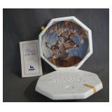 1993 Hamilton Whitetail Deer Plate Interlude NIB