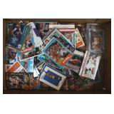 About 200 Basket Ball Trading Cards