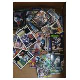 About 150 Baseball and Football Trading Cards
