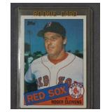 Rogers Clemens Red Sox Rookie Card 1985 Topps #181