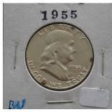 1952-D Franklin BU Half dollar
