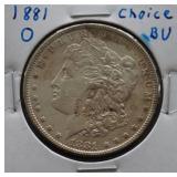 1881-O Morgan BU Silver Dollar