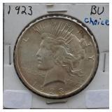 1923 Peace BU Silver Dollar