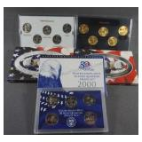 2000 50 State Quarter Proof Gold and Platinum Sets