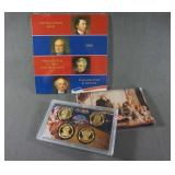 2008 Presidential Dollar Proof and Unc. Coin Sets
