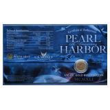 2016 1/10 oz. Gold Pearl Harbor 75th Anniversary