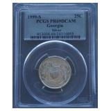 1999-S Georgia Silver Proof Quarter PR69 DCAM