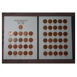 82 1909 - 1958 Lincoln Wheat Pennies with Books