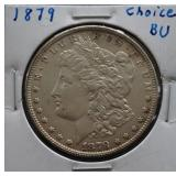 1879 Morgan BU Silver Dollar