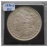 1880-S Morgan BU Silver Dollar