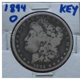 1894-O Morgan Silver Dollar Toned