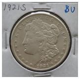 1921-S Morgan BU Silver Dollar