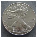 2017 Unc. American Silver Eagle