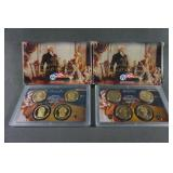 2009 2010 Presidential Dollar Proof Sets