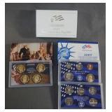 2007 U.S. Mint Proof 14 Piece Coin set