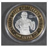 .999 Silver $10 Casino Gaming Token