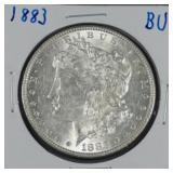 1883 Morgan BU Silver Dollar