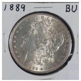 1889 Morgan BU SIlver Dollar