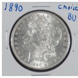 1890 Morgan BU Silver Dollar