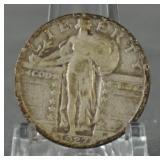 1927-D Standing Liberty Quarter Key Date
