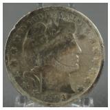 1903-S Barber Silver Half Dollar