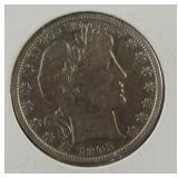 1905-S Barber Half Dollar
