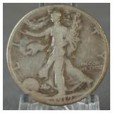 1919 Walking Liberty Half Dollar Semi Key Date