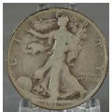 1919-S Walking Liberty Half Dollar Semi Key Date