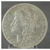 1884-S Morgan Silver Dollar Key Date